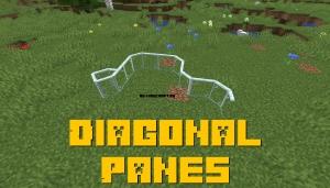 Diagonal Panes - диагональные панели [1.16.2] [1.15.2] [1.14.4]