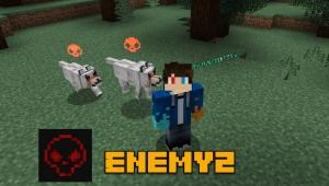 Enemyz - отображение атакующих мобов [1.15.2] [1.14.4] [1.12.2]