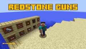 Redstone Guns - оружие из мобов [1.12.2]