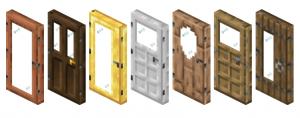 ExtraDoors - больше видов дверей [1.16.5] [1.15.2] [1.14.4]