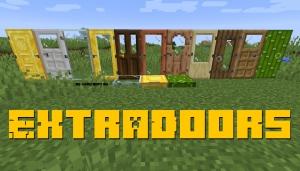 ExtraDoors - больше видов дверей [1.16] [1.15.2] [1.14.4]