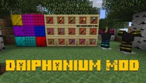 Daiphanium Mod - световое/лазерное оружие и броня [1.14.4]