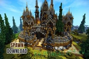 Factions Medieval Spawn/Hub/Lobby - спавн/лобби для сервера [1.14.4]