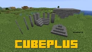 CubePlus - блоки для декора [1.16.5] [1.15.2] [1.14.4]