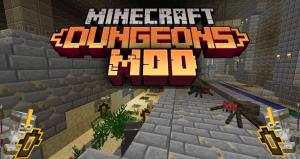 MC Dungeons Mod - вещи, мобы, оружие [1.15.2] [1.12.2]