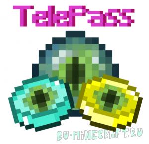 TelePass - телепорт к игроку с помощью компаса [1.12.2]