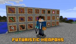Futuristic Weapons - футуристическое оружие [1.12.2]