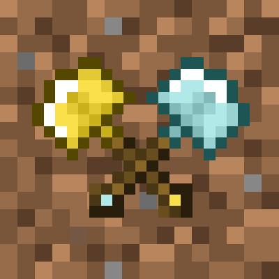 Vanilla Excavators - быстрые лопаты [1.16.2] [1.15.2] [1.14.4]