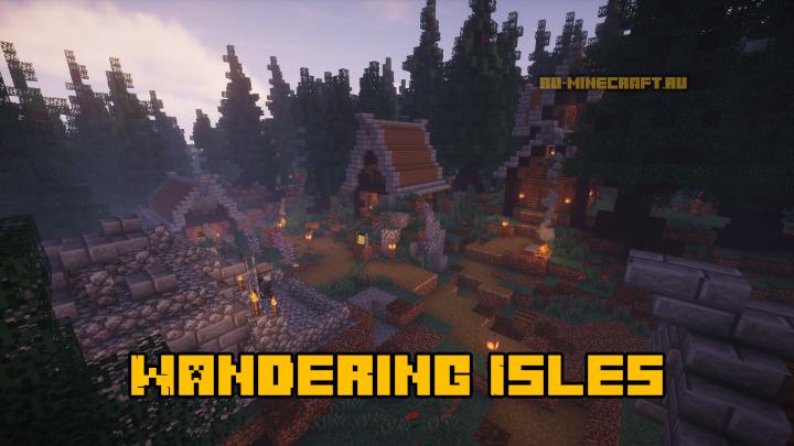 Wandering Isles - вручную созданный остров [1.14.4]