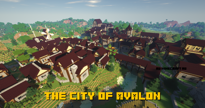 The City of Avalon - средневековый город [1.14.4]