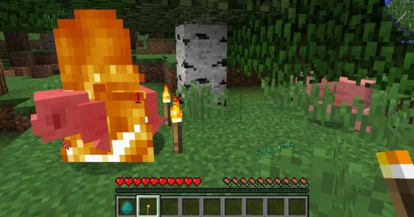 Super Hot - факел поджигает мобов [1.15.1] [1.14.4] [1.12.2]