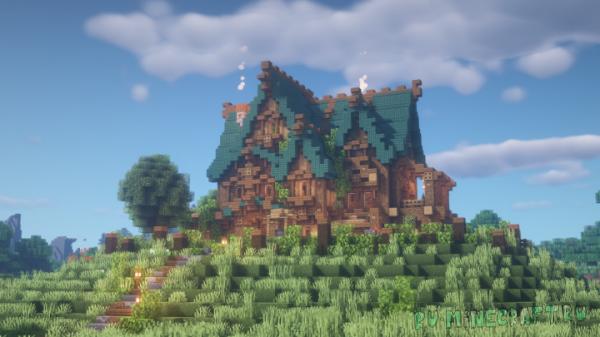 Goldrobin's Mansion - большой дом среди природы [1.14.4]