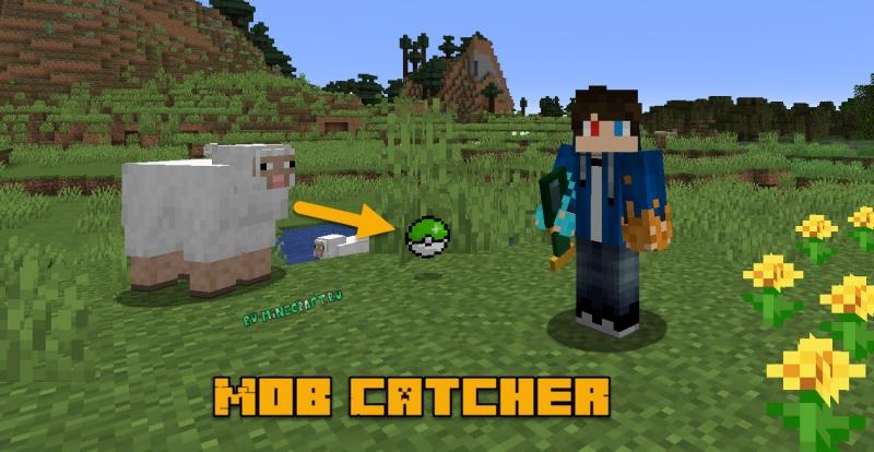 Mob Catcher - захватываем мобов в шар [1.16.5] [1.15.2] [1.14.4]