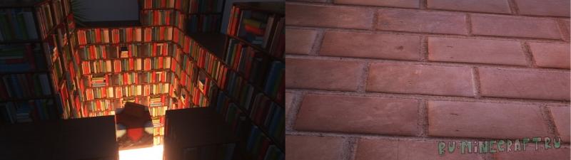 Umsoea - супер реалистичные текстуры [1.14.4] [512x] [1024x]