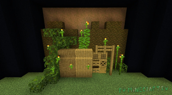 Bamboo Blocks - блоки из бамбука [1.15.2] [1.14.4]