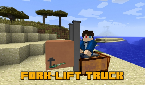 Fork-lift truck - вилочный погрузчик [1.7.10]