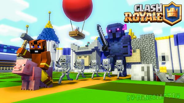 Clash Royale Challenge  - Minecraft Animation