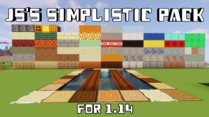JS's Simplistic Pack - минималистичный ресурспак [1.14.4] [8x]