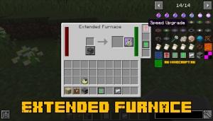 Extended Furnace - апгрейдим/улучшаем печь [1.15.2] [1.14.4]