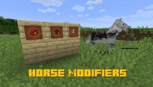 Horse Modifiers - прокачка лошади [1.15.2] [1.14.4] [1.12.2]