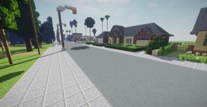 Suburb Neighborhood (Los Angeles) - пригород Лос-Анджелеса [1.14.4]