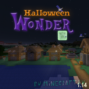 Halloween Wonder Eclipse - хеллуин везде [1.14.4] [64x]