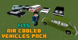 MTS Air-Cooled Vehicles Pack - пак на седаны и минивены [1.12.2]