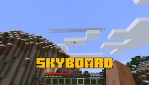 Skyboard - таблица с игроками в небе [1.14.4]