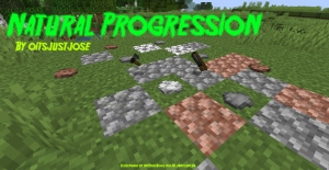 Natural Progression - Реалистичное развитие [1.16.5] [1.15.2] [1.14.4]