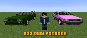 D33 Audi package - пак машин, старые Ауди [1.12.2] [1.7.10]
