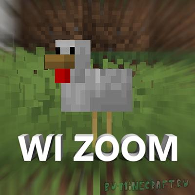 WI Zoom - большой зум (приближение) [1.17] [1.16.5] [1.15.2] [1.14.4] [1.12.2]