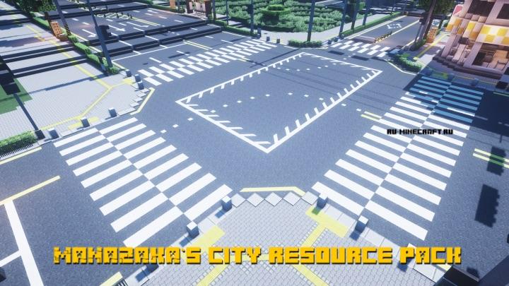MANAZAKA`s city resource pack - городские текстуры [1.14.4] [16x]