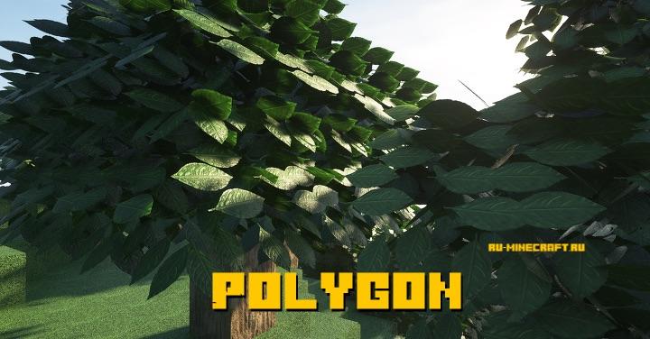 Polygon - реалистичный ресурспак в высоком разрешении [1.14.4] [512x]