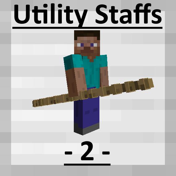 Utility Staffs 2 - посохи прыжка [1.14.4] [1.12.2]