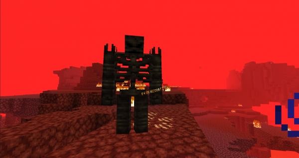 Deeper Caverns - новый ад, большая пещера [1.14.4]
