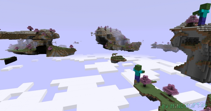 Rediscovered Mod - вернём прошлое в майнкрафт [1.14.4] [1.7.10]
