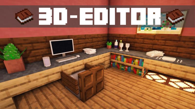 3D-Model-Editor - датапак для декора [1.14.4]