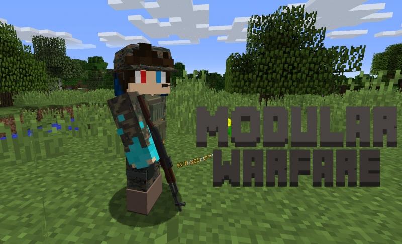 ModularWarfare - настоящее существующее оружие [1.12.2]