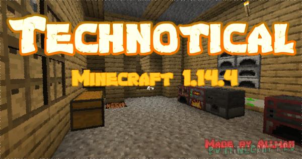 Technotical - индустриальная сборка Minecraft [1.14.4] [Client]