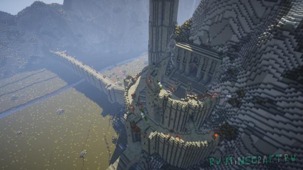 Helm's Deep: Fortress of Rohan - крепость из Властелина Колец [1.14.4]