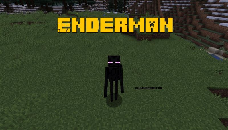 Enderman - стань эндерменом [1.14.4]