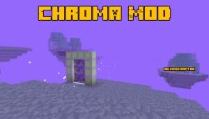 Chroma Mod - измерение с летающими островами [1.12.2]