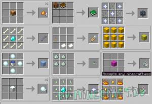 MoCreating - крафты блоков и вещей без рецепта [1.14.4]