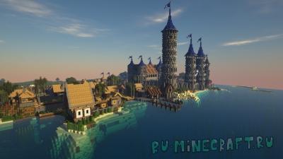 Vetero town - средневековый портовый город [1.14.4]