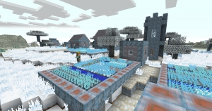 Frozen World by Destroykin - текстуры замерзшего мира [1.12.2] [16x]