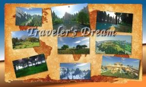 Traveler's Dream - новый крутой мир игры, новые биомы [1.12.2]