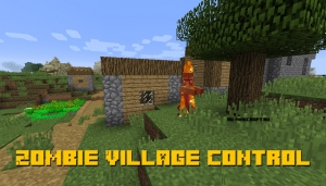 Zombie Village Control - контроль спавна зомби-деревень [1.12.2]