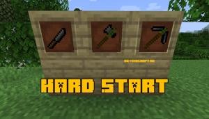 Hard Start - реалистичный старт игры [1.14.4]