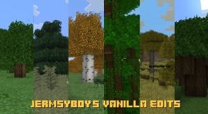 JermsyBoy's Vanilla Edits - измененные стандартные текстуры [1.16.3] [1.15.2] [1.14.4] [16x]