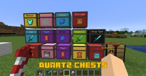 Quartz Chests - кварцевые сундуки [1.15.2] [1.14.4]